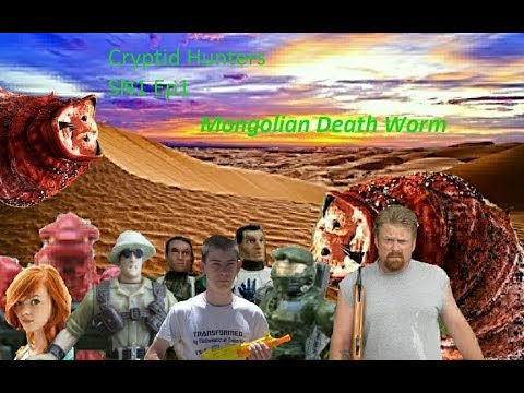 Cryptid Hunters Sn1 ep1 Mongolian Death Worm