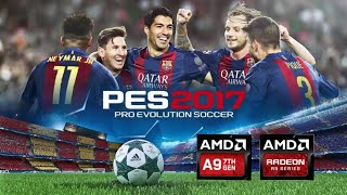 Amd a9 playing pes 2019
