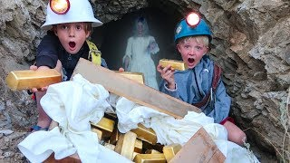 connectYoutube - WE FOUND REAL TREASURE IN GHOST HAUNTED GOLD MINE!