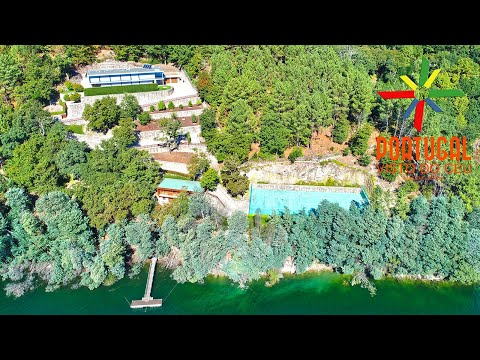 Cristiano Ronaldo Gerês luxury mansion aerial view