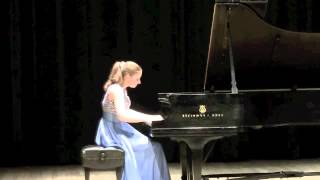 TOCCATA by Ned Rorem - Jennifer Nicole Campbell, piano