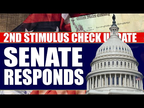 Second Stimulus Check and Stimulus Package UPDATE: Senate Open to Enhanced Unemployment Extension