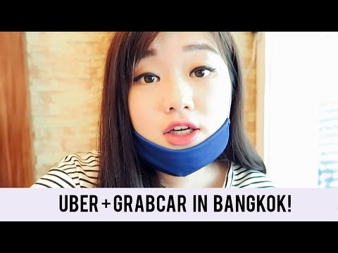 ALL HAIL UBER + GRABCAR IN BANGKOK ASIATIQUE, TERMINAL 21, SIAM SQUARE, MBK