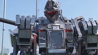 Китайцы создали огромного робота-гладиатора (новости)