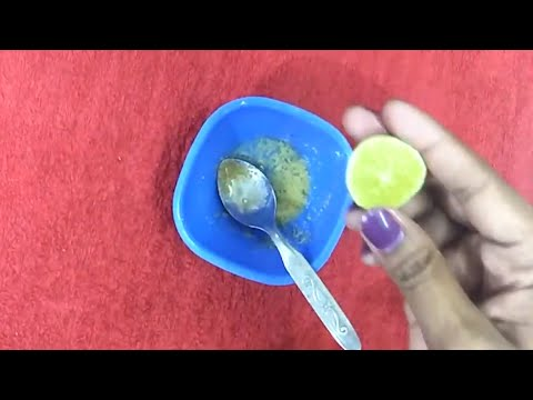 How to remove dark spots, acne scars and black spots naturally at home in Telugu || Beauty tips ||