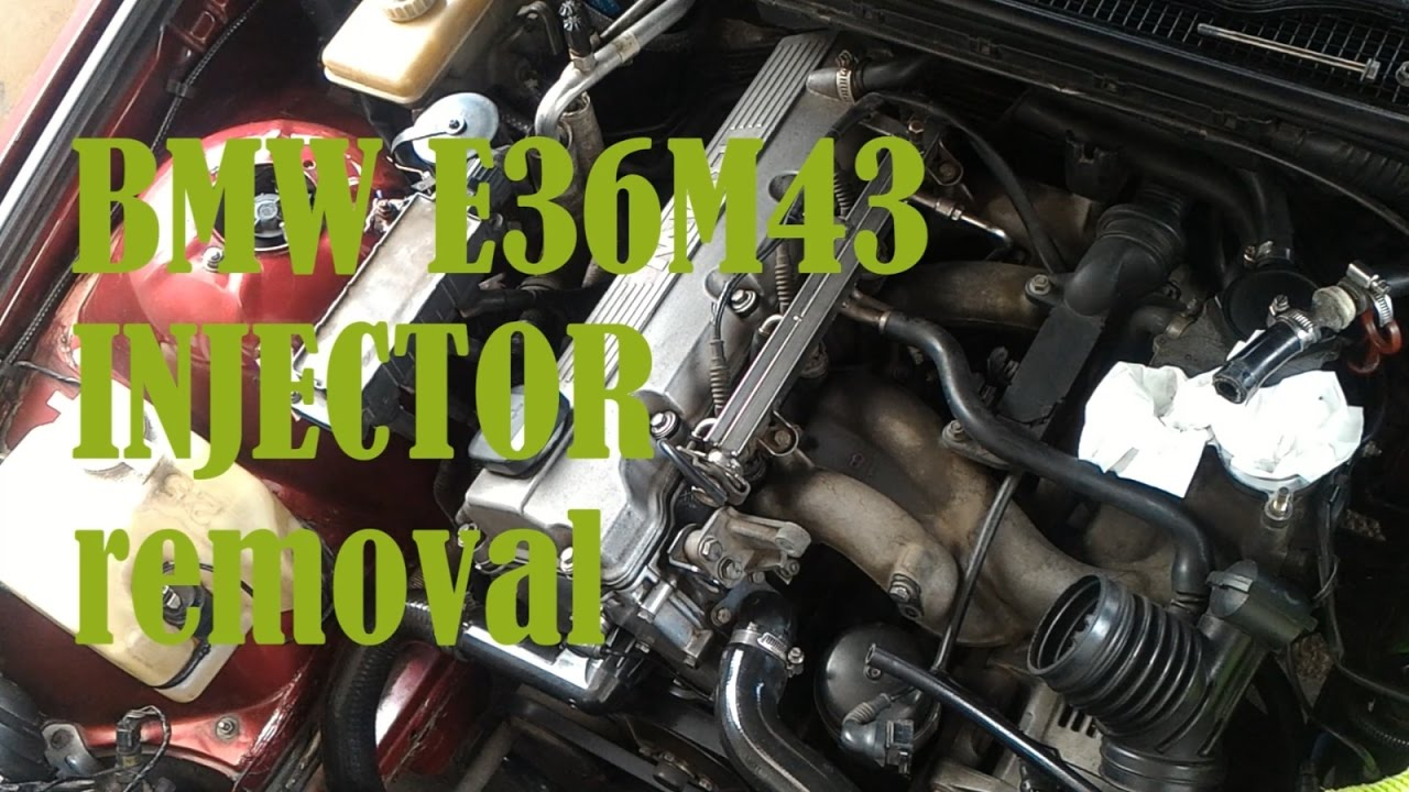 Injector Removal Bmw E36m43 Youtube E36 Wiring Harness