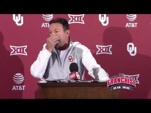 Bob Stoops 11/14 West Virginia Press Conference