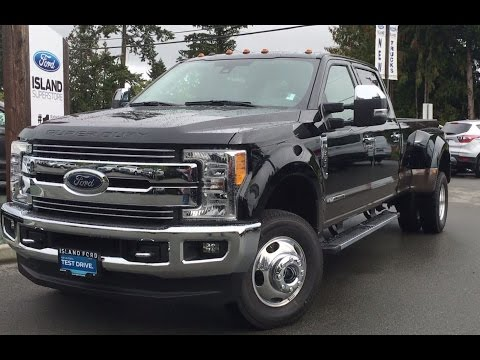 2017 Ford Super Duty F-350 DRW Lariat Ultimate Chrome SuperCrew 4X4 W/Intelligent Access Review