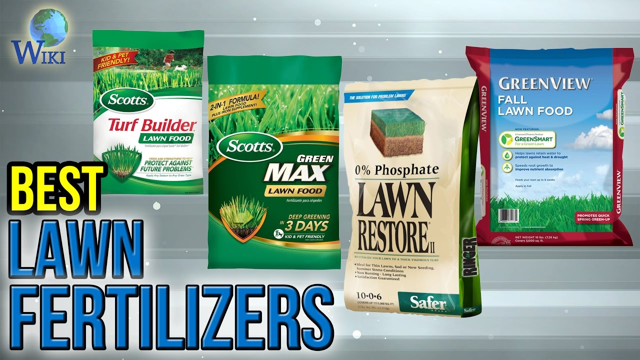 Best Lawn Fertilizer >> 10 Best Lawn Fertilizers 2017 Youtube