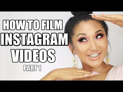 HOW TO FILM BEAUTY INSTAGRAM VIDEOS || TIPS, MUSIC, FILMING SECRETS