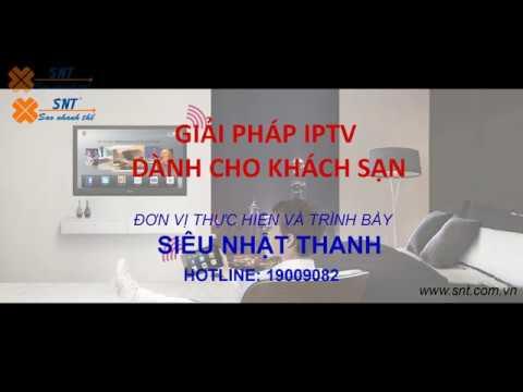 Giải pháp IPTV dành cho khách sạn của Siêu Nhật Thanh tại Hội Nghị IT