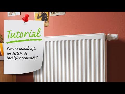 Cum se instaleaza un sistem de incalzire centrala? Ghid video Leroy Merlin Romania