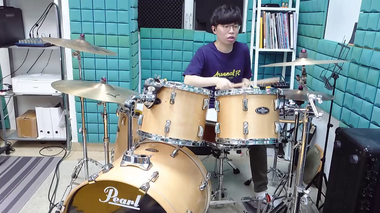 Flower Flower - 夢 (Yume) 叩いてみた drums cover by 坤城 Kwan Shing - YouTube