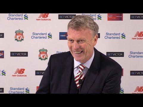 Liverpool 2-0 Sunderland - David Moyes Full Post Match Press Conference