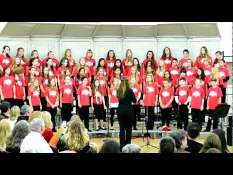 Destiny and the Carmel Middle School Choir