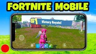 Fortnite MOBILE Gameplay - Funny Moments (Fortnite Mobile Gameplay)