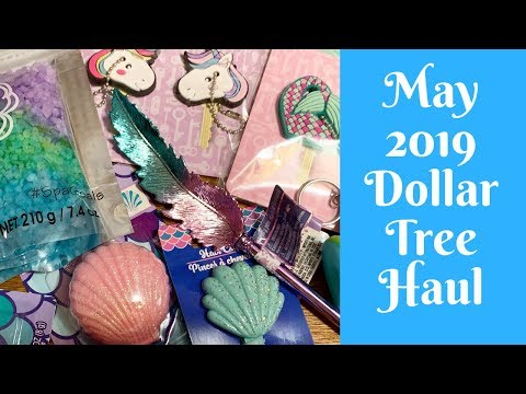 Shopping Hauls: Dollar Tree Shopping Haul May 2019