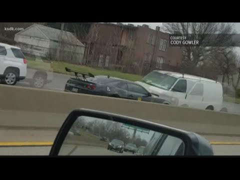 Video shows wrong-way crash on I-55