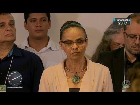 Marina Silva lança pré-candidatura para eleições do ano que vem | SBT Brasil (02/12/17)