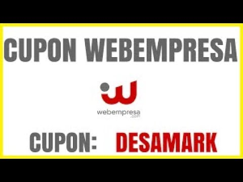 Cupon Descuento Webempresa 【 40% 】 Black Friday 2018 Desamark ✅✅✅