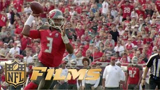 Jameis Winston Mic'd Up for NFC South Battle | Inside the NFL: Saints vs. Buccaneers highlights