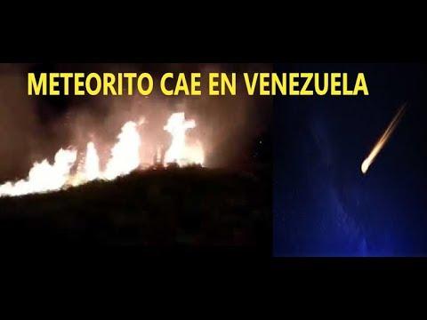Resultado de imagen para caen meteoritos en venezuela