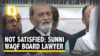 Not Satisfied with Ayodhya Verdict, Will Seek Review: Sunni Waqf Board Lawyer