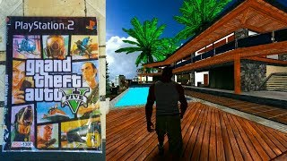 ¿Como Se Veria GTA 5 En PS2?