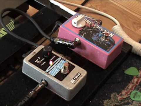 Electro Harmonix Nano Holy Grail Vs Malekko Spring Chicken REVERB Pedal Shootout Demo