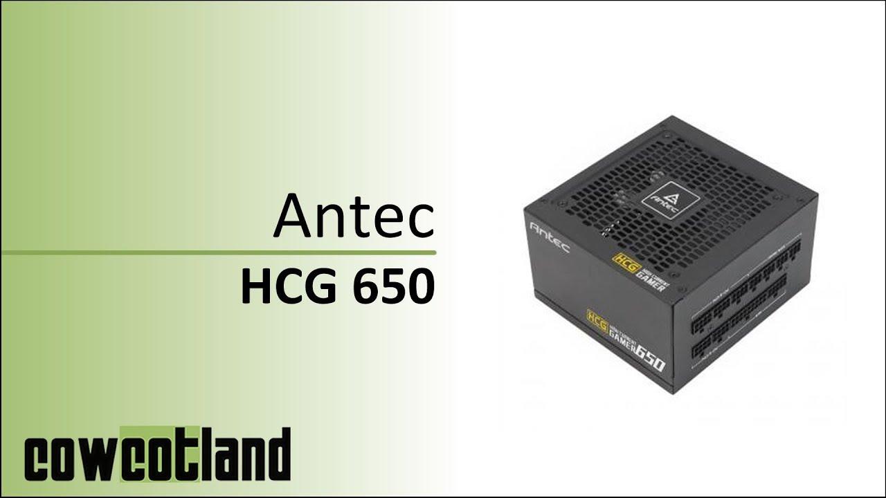 [Cowcot TV] Présentation alimentation Antec High Current Gamer 650