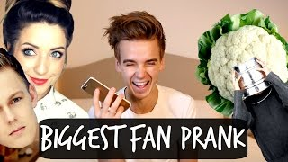 BIGGEST FAN PRANK