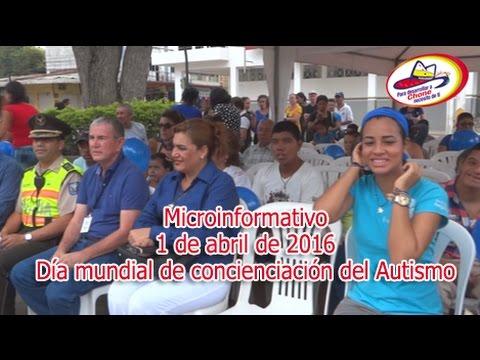 Microinformativo 1 abril 2016 - Día mundial de concienciación del Autismo