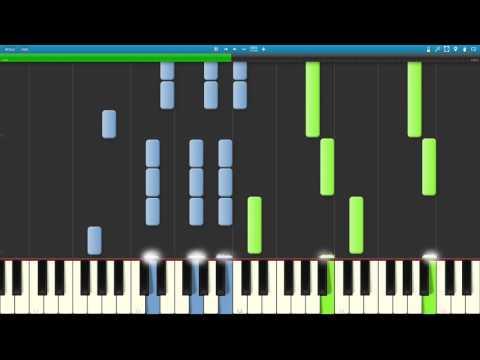 Child of Light - Aurora's Theme (piano tutorial)