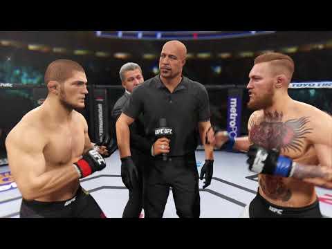 UFC   Хабиб Нурмагомедов vs Конор МакГрегор      UFC2(PS4)