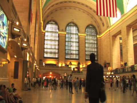 Grand Central Terminal GCT Main Concourse Railway Station 42nd Street Manhattan New York City NYC