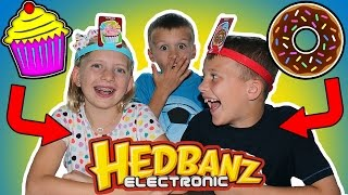 Headbanz || Family Game Night Gets CRAZY When Grandparents Come Over!!