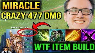 WTF MIRACLE OMNI ITEMS - CRAZY MAN CRAZY DAMAGES Dota 2 7.10