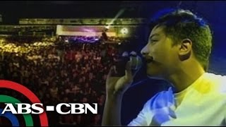 Daniel Padilla treat fans in