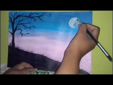 60 Koleksi Contoh Lukisan Pemandangan Yang Mudah Dengan Cat Air HD