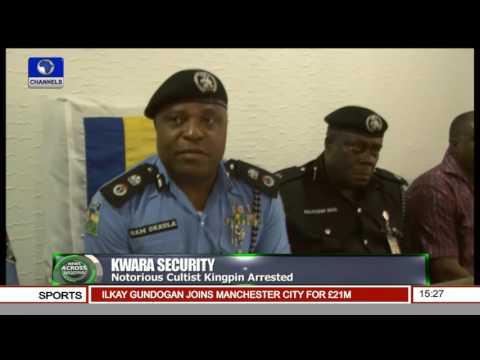 Kwara Police Arrest Notorious Cultist Kingpin