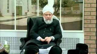 Gulshan-e-Waqfe Nau Atfal, 25 Jan 2009, Educational class with Hadhrat Mirza Masroor Ahmad(aba)
