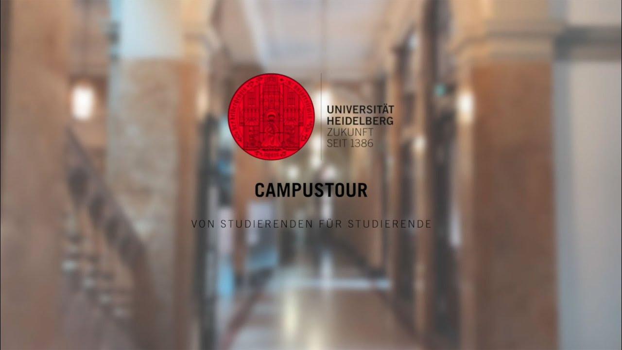 Universität Heidelberg: Campustour