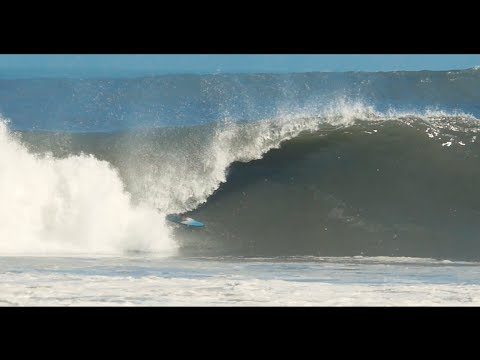 Benji Brand's Six Namibia Barrels On One Wave