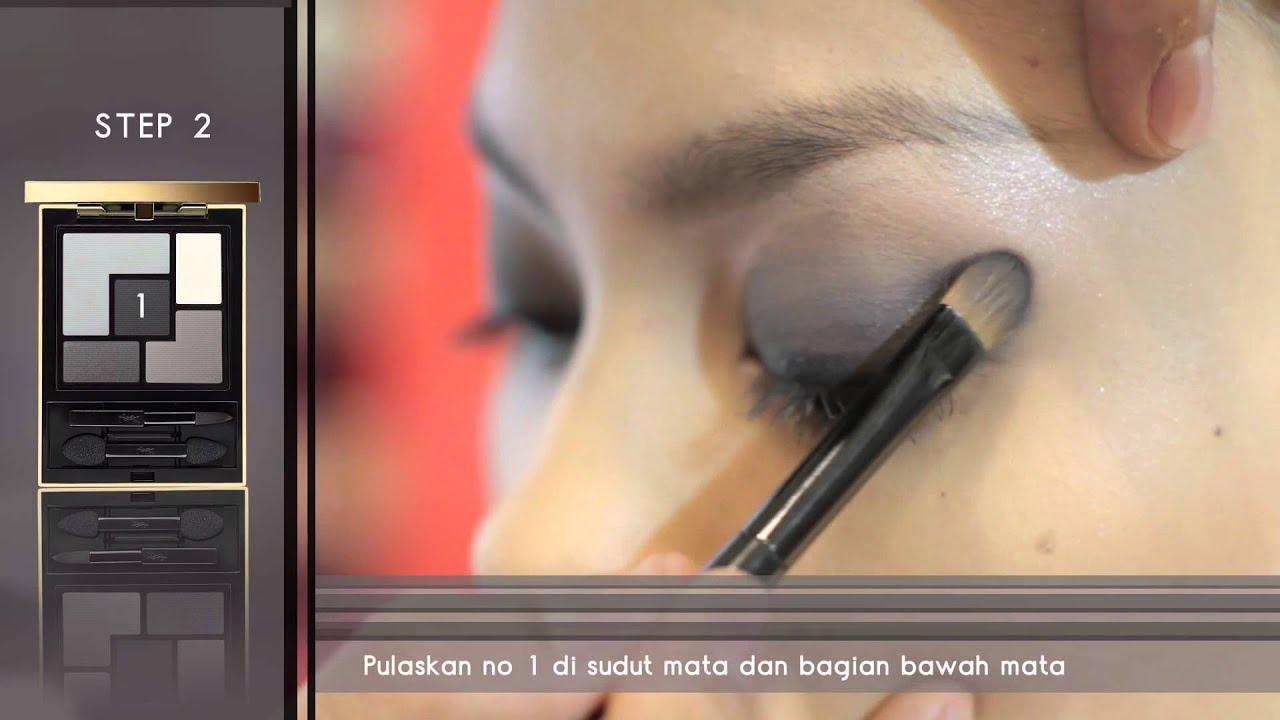 Ysl Couture Palette Eyeshadow Tutorial No 1 Tuxedo Youtube
