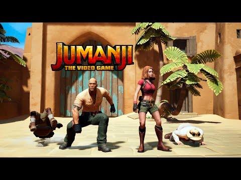 Jumanji: The Video Game. Джуманджи Обзор игры