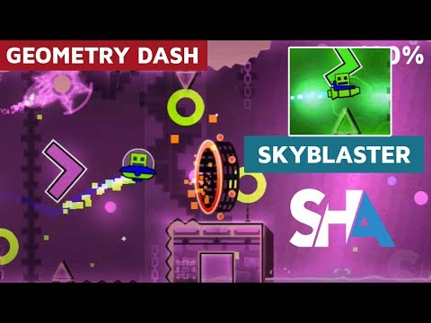 Geometry Dash -  SkyBlaster by CreatorAL 100% Completed | SHAvibe