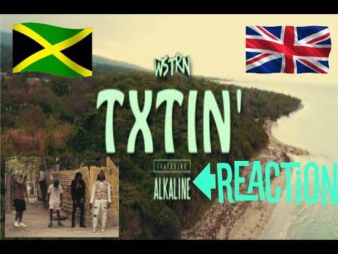 WSTRN ft. Alkaline Txtin reaction