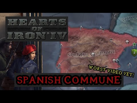 Spanish Commune - Hearts of Iron 4: La Resistance |