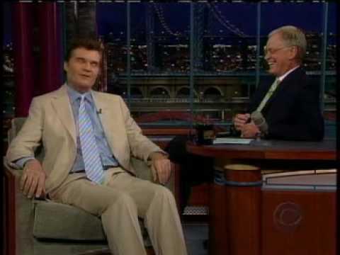 Fred Willard joke about blind prostitutes on Letterman