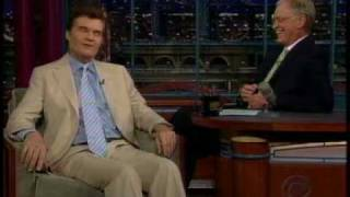 Fred Willard joke about blind prostitutes on Letterman